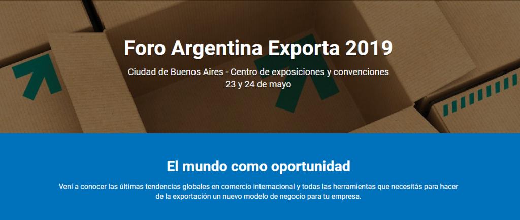 Foro Argentina Exporta 2019