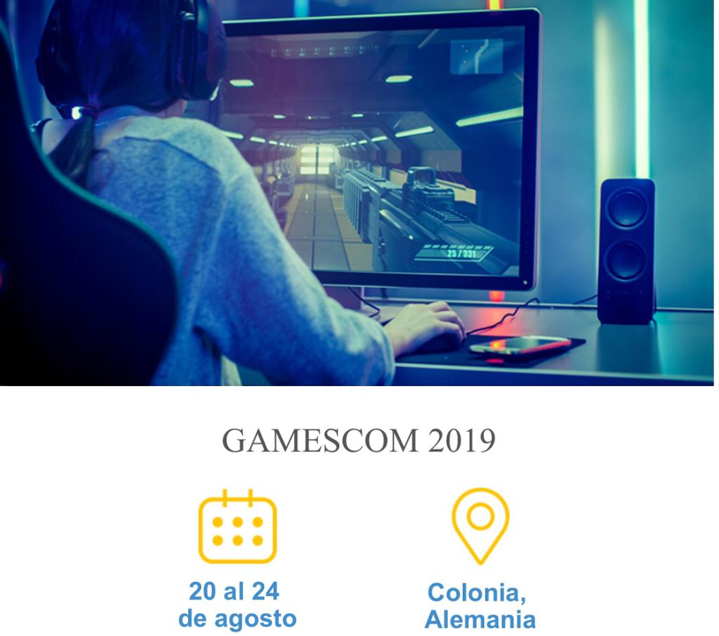 GAMESCOM 2019 – Feria Internacional