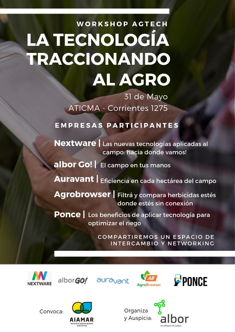Workshop: LA TECNOLOGÍA TRACCIONANDO AL AGRO