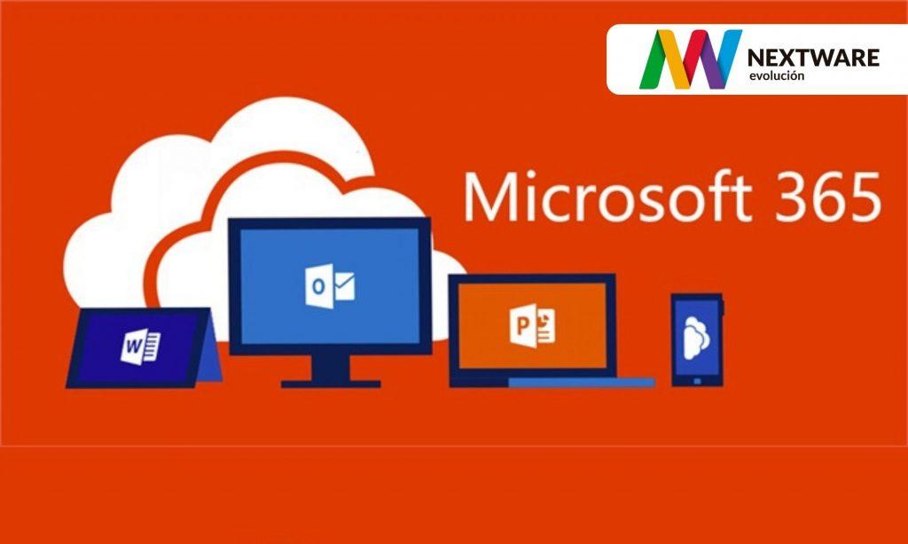 Agradecemos a Nextware la gestión de licencias Microsoft 365 totalmente bonificadas