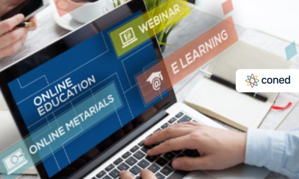 """""""CONED brinda su plataforma virtual de capacitación y formación de manera gratuita ."""""""